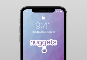 Nuggets Logo Wallpaper