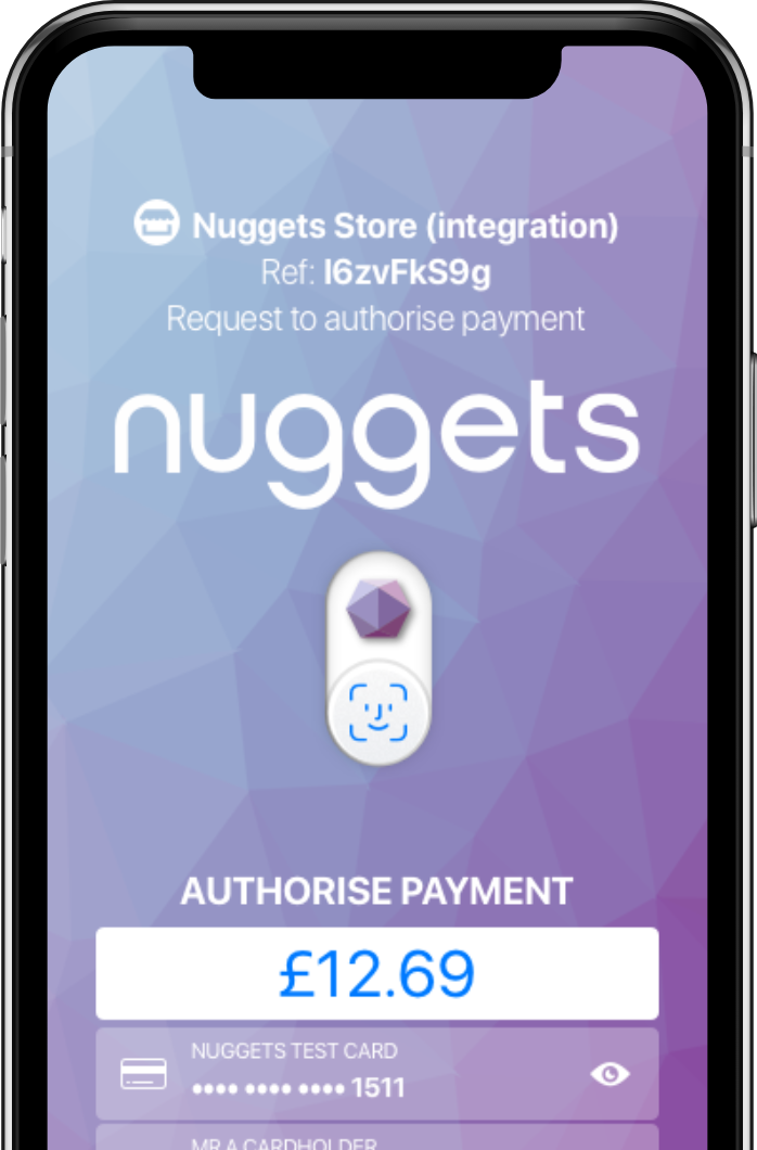 Nuggets app screen